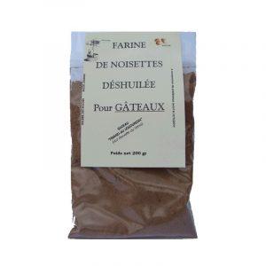 Farine de noisettes (200g)