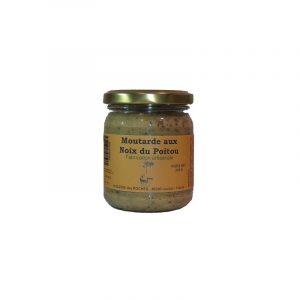 Moutarde aux noix du Poitou (200g)
