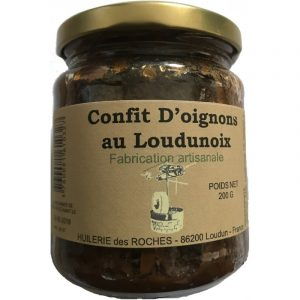 Confit d'Oignons au Loudunoix (100g)